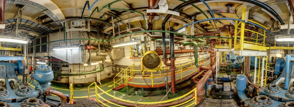 Weiss AG Civetta 360° Camera Oil Rig interior