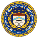 Alcohol Tobacco Firearms ATF logo