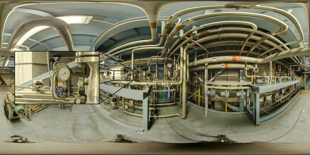 360° Civetta 230 Megapixel camera spherical image