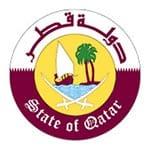 Logo des Staates Katar