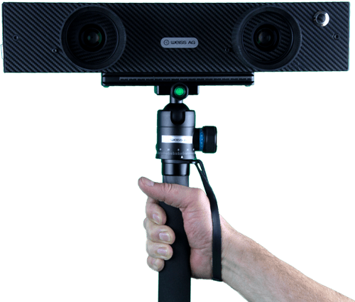 I-detic handheld 3D scanner Plug & Play