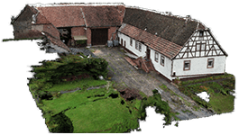 VAM2 Harzthalerhof virtual tour 3D point cloud