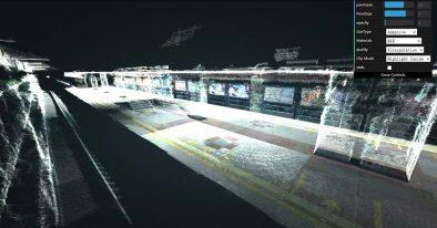 隧道点云的3D扫描