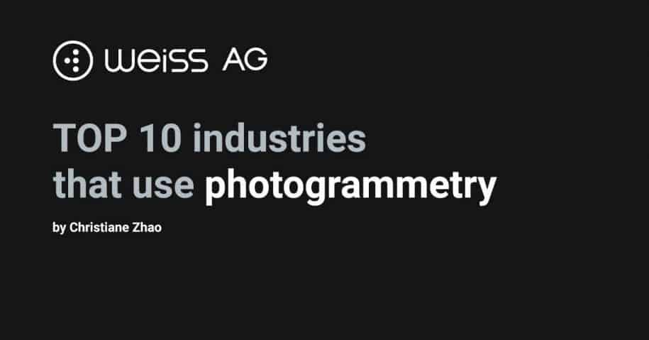 top 10 industries that use photogrammetry